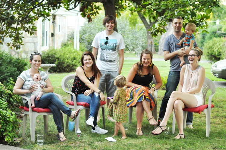 front yard group